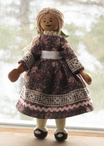 Penny the clothespin doll
