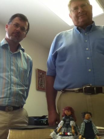 BBuffalo office with Dr. Brian Albrecht & Greg Constable